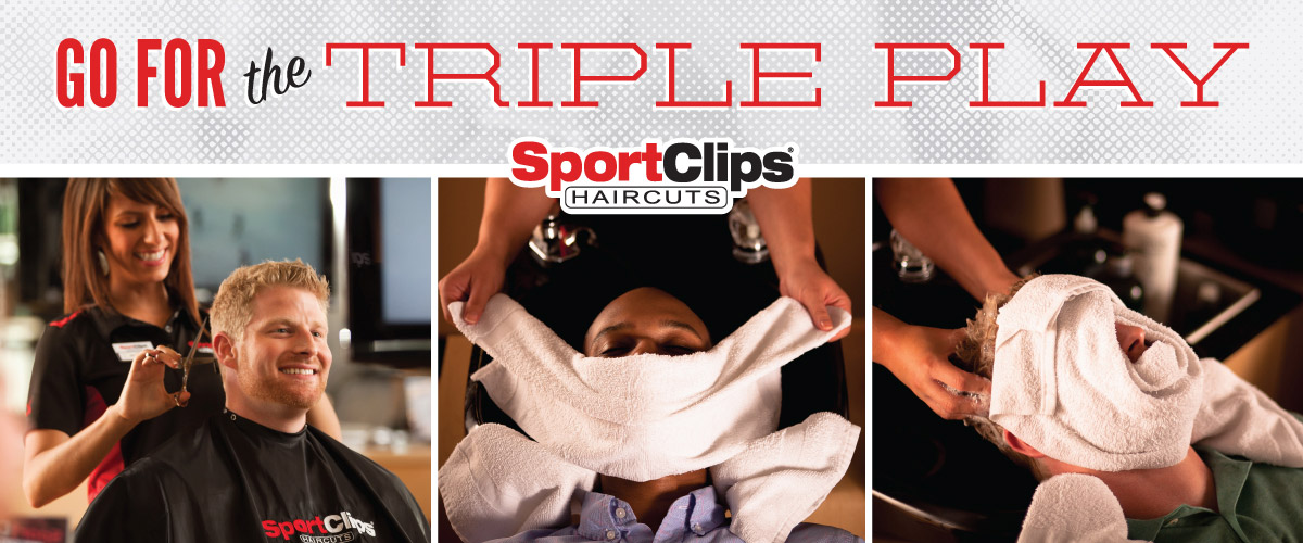The Sport Clips Haircuts of Bismarck Triple Play